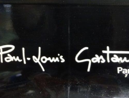 Radio-téléphone Base Tulipe signé Paul-louis Gastaud Paris