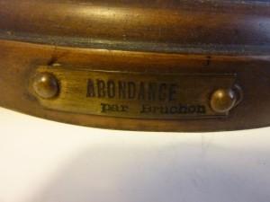 Régule Art nouveau signé Bruchon