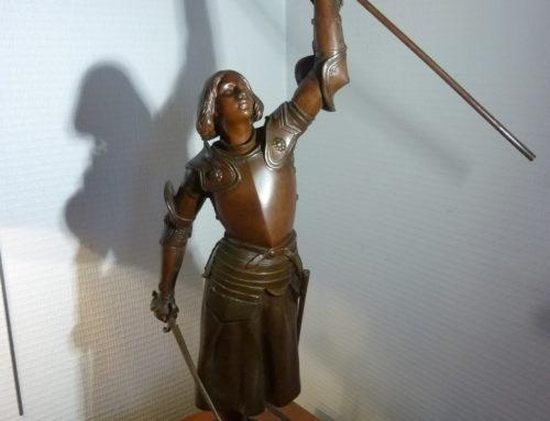 Bronze Jeanne d'Arc signé Coudray